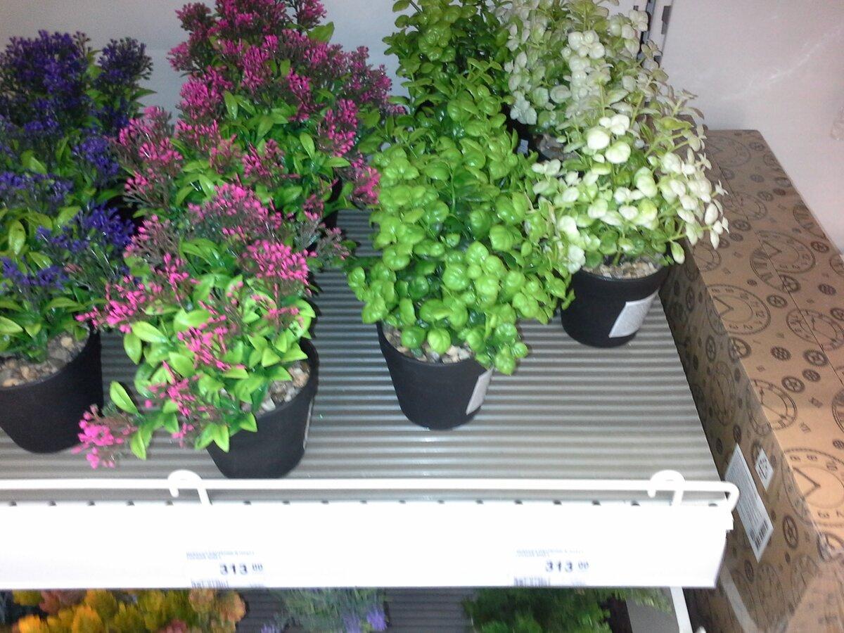 Искусственные растения в интерьере – это модный элемент, а не бабушкины цветочки
