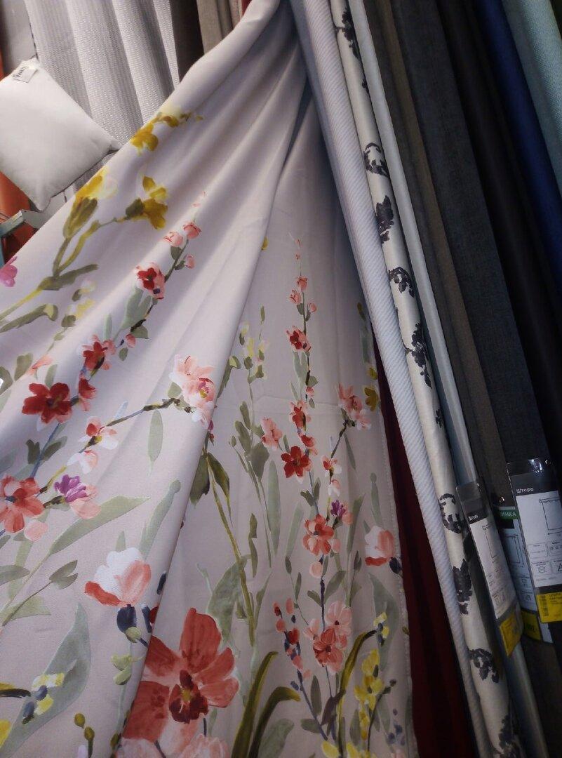 Присмотрела новые готовые шторы в Кастораме, очень красивые подборки